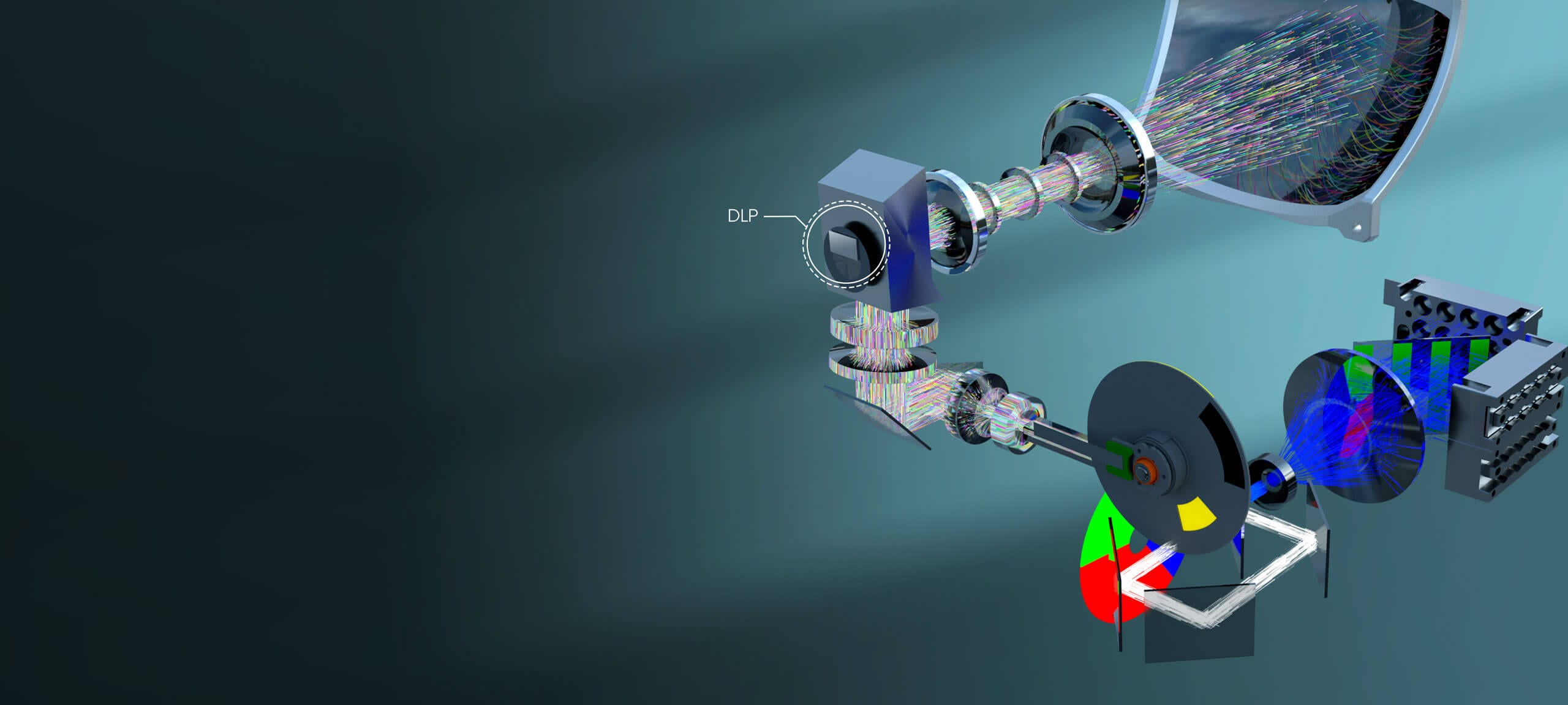 DLP-lasertv