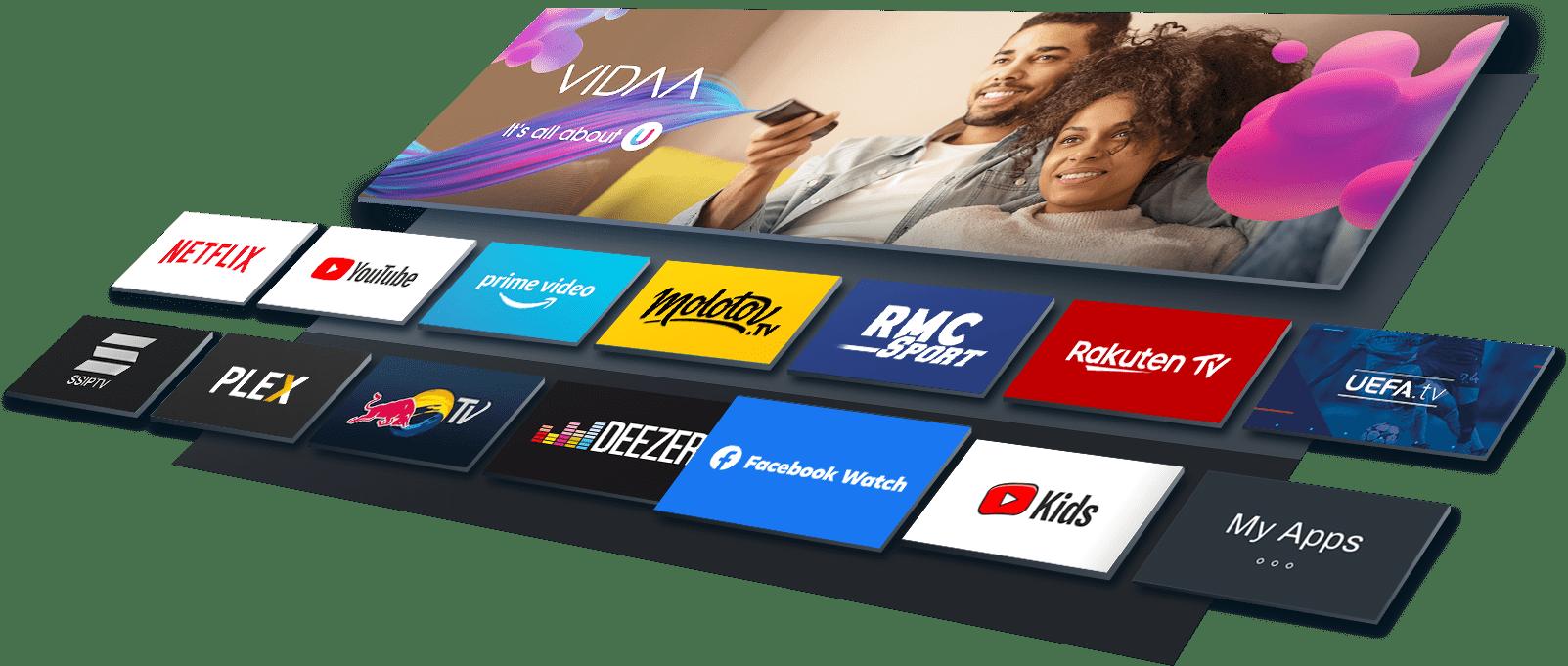 10-vidaa-TV Screen